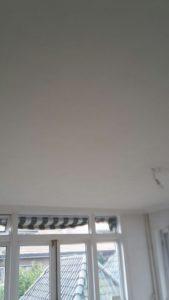 gips riet plafond verwijderen