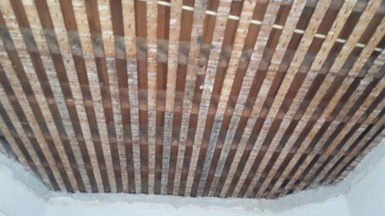 riet plafond verwijderen