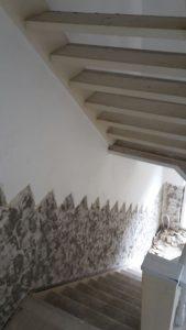 wandtegels van de muur