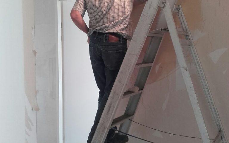 behang verwijderen kwakel