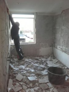 badkamer slopen Rhoon