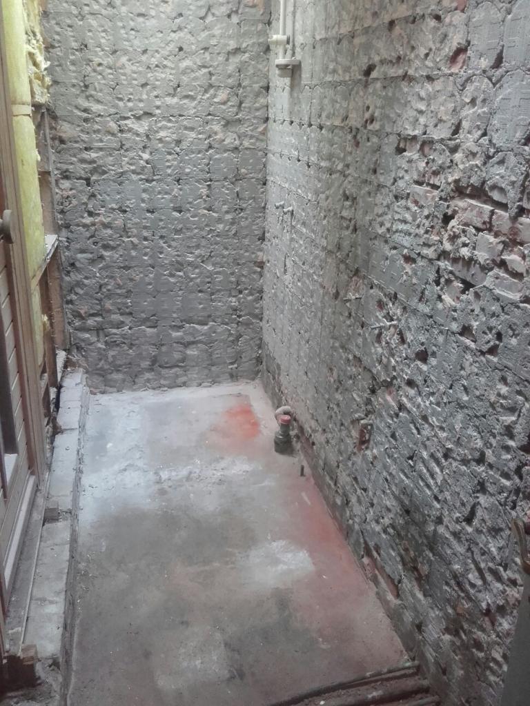 slopen badkamer