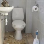toilet verwijderen