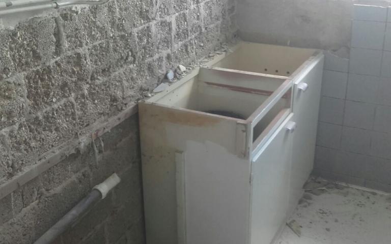 keuken verwijderen