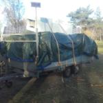 bedrijf caravan slopen