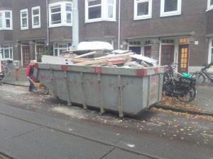 afval afvoeren amsterdam