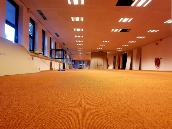kantoorruimte systeemwanden verwijderen